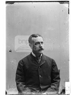 Sr. Vallés, Fotografia de Eugenio Courret, publicada en 1883 - Biblioteca Nacional del Perú