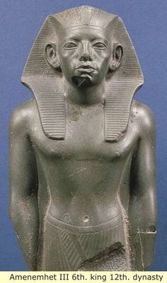 Ancient Egypt: The old kingdom to the Middle kingdom, as you can see the features of the Pharaoh, are African American.