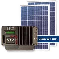 Sundancer 200W RV Solar Panel Kit