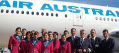 Reunion's Air Austral cabin crew