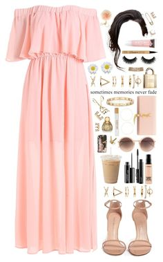 """""""memories."""" by dyciana ❤ liked on Polyvore featuring MICHAEL Michael Kors, Forever 21, Kenneth Jay Lane, Hermès, Yves Saint Laurent, Accessorize, Tiffany & Co., MAC Cosmetics, Stuart Weitzman and Linda Farrow"""