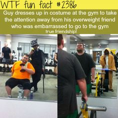 This is so sweet, I almost want to cry! The best example of true friendship - WTF fun facts