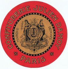 vintage french labels