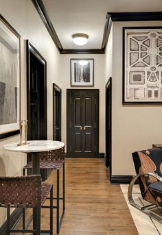 PAINT THE TRIM AND BASEBOARD NICE AND DARK - Redbook.com