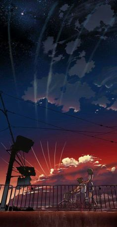 ‏#animewallpaper #sunset  #wallpaper #kawaii #ezmkurd #خلفيات #غروب_الشمس #خلفيات_انمي #sky   Anime  Sky Wallpaper ( Sunset )