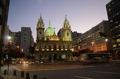 Igreja de Nossa Senhora da Candelária, Rio de Janeiro. #Travel #Brasil #Rio