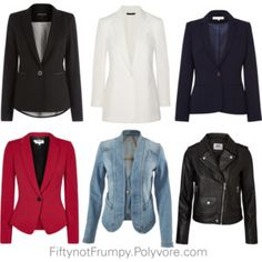 """""""Jackets"""" by fiftynotfrumpy on Polyvore"""