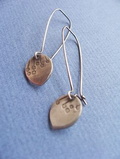 Allium Petal Drop Earrings | Flickr - Photo Sharing!