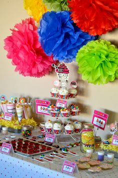 Cupcake Wars Party Theme- I wonder if a 16 year old would like this???
