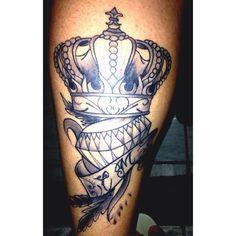 Coroa, Diamante | Tatuagem.com (tatuagens, tattoo)