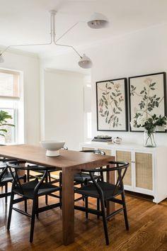 Home Interior Salas .Home Interior Salas Bright Dining Rooms, Dining Room Inspiration, Modern Dinning Room Ideas, Modern Dining Rooms, Traditional Dining Rooms, Modern Living, Dining Room Design, Dining Room Storage, Kitchen Design