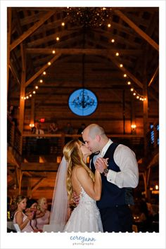 First Dance At Wedding Reception Mapleside Farms