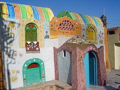 nubiaat:    A traditional Nubian house, Aswan  بيت نوبي تقليدي، أسوان