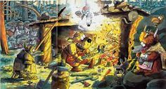 don rosa kalevala Don Rosa, Finland, Illustration Art, Illustrations, Amazing Art, Fairy Tales, Artwork, Artist, Pictures
