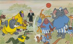 Island of Naboombu, in Bedknobs and Broomsticks. It's the home of the animals a wizard experiment Disney Movies, Disney Characters, Fictional Characters, Bedknobs And Broomsticks, Disney Paintings, Kindred Spirits, Family Movies, Disney Pictures, Disney Animation