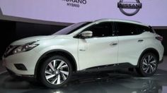 2016 Nissan Murano front  The all-new 2016 Nissan Murano crossover SUV is best described as a perfect strike between elegance, class and aggression all in equal measure. #nissan #murano2016 #nissanmurano