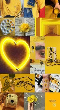 Wallpaper preto e amarelo 44 ideas Iphone Wallpaper Tumblr Aesthetic, Aesthetic Pastel Wallpaper, Tumblr Wallpaper, Aesthetic Wallpapers, Iphone Wallpaper Yellow, Neon Wallpaper, Iphone Background Wallpaper, Pastel Background, Yellow Aesthetic Pastel