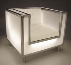 The Coron is a hand-crafted, self-illuminating light chair that attracts everyone that sees it