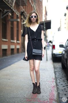 "The ""wear it everyday"" black dress of my dreams. Where are you?"