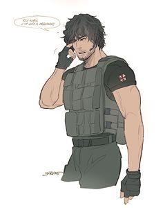 Carlos Resident Evil, Tyrant Resident Evil, Resident Evil Anime, Resident Evil Girl, Resident Evil 3 Remake, Devil May Cry, Anime Manga, Anime Guys, Evil Art
