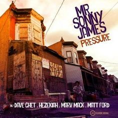 Mr. Sonny James  Pressure  Mr. Sonny James brings together Philadelphias freshest emcees on his recent release Pressure. Kicking off with chopped vocals paired with smooth scratching the track starts with a heavy street vibe then- sych- a sweet sultry piano transforms this joint into a Dilla-esque soulful classic. The song maintains a gritty yet melodic vibe with deep piercing raps juxtaposed by an airy singing chorus courtesy of Hezekiah. Rappers Dave Ghet Marv Mack and Matt Ford deliver…