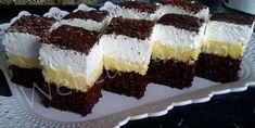 Hungarian Desserts, Tiramisu, Cake Recipes, Cheesecake, Deserts, Food And Drink, Bread, Snacks, Chocolate
