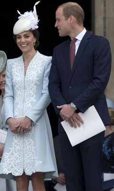 Prince William and Prince Harry Have Kate Middleton in Stitches at an Event in Honor of the Queen
