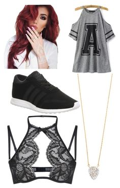 """Untitled #124"" by journeycarothers on Polyvore featuring adidas, Agent Provocateur and Adina Reyter"