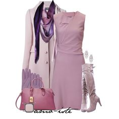 pastels by amo-iste on Polyvore featuring moda, Jil Sander, Dolce&Gabbana, Ralph Lauren, Chico's, Leona Lengyel and Forzieri