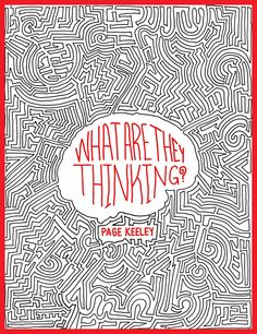 What Are They Thinking? Book Cover on Behance