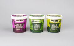 Stoats Porridge | Branding, Packaging, Web & Interior Design | Leeds