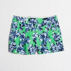 J.Crew Factory  Factory printed pleated short