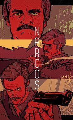 Narcos by zeekolee.deviantart.com on @DeviantArt