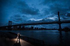 브루클린 덤보 브리지 공원 에서 촬영한 뉴욕 허니문 스냅 사진 입니다