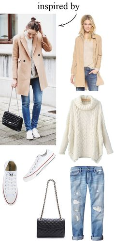 inspired by.. camel and denim - M Loves M