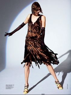 """""""Step Right Up"""" from the editorial """"The Flapper Wears Prada"""" 