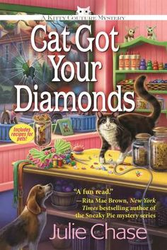 Cover image for Cat Got Your Diamonds: A Kitty Couture Mystery