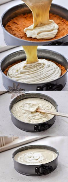 Easy Homemade Cheesecake [Recipe] - NaomiCakes - My Website 2020 Homemade Cheesecake, Easy Cheesecake Recipes, Easy Cookie Recipes, Cheesecake Bites, Birthday Cheesecake, Turtle Cheesecake, Caramel Cheesecake, Cheesecake Cupcakes, Cheesecake Brownies