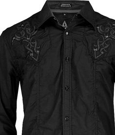 Roar Prestige Button Front Shirt