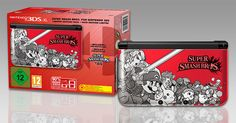 Nintendo #3DSXL #SmashBros - Super Smash Bros for #3DS is now out worldwide!