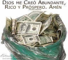 Afirma: Creo pensamientos de Abundancia y la Prosperidad crece en mi vida... siigue en  http://katiuskagoldcheidt.com/crece-mi-abundancia/
