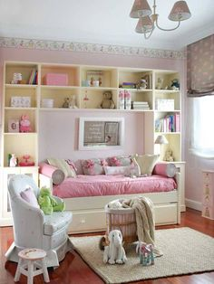 Girls Cute Pink And White Bedroom Ideas -- http://kaamz.com/girls-cute-pink-and-white-bedroom-ideas/