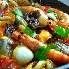 Lizbona - Caldeirada, portugalska zupa rybna / Portuguese fish soup, Lisbon