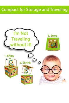 Montessori Educational Activity Cube Center Multifunction Toys