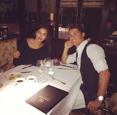 Cristiano Ronaldo and Irina