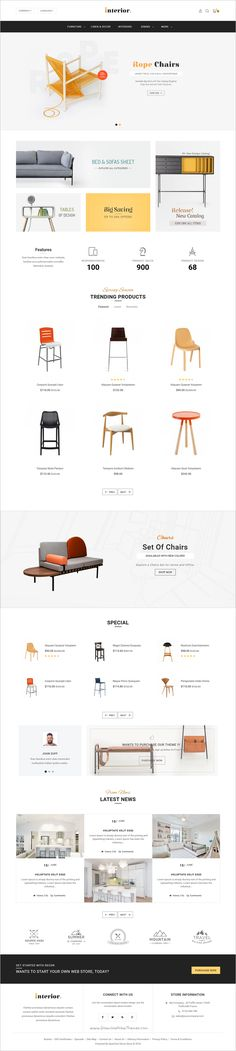 Interior store is beautifully design #Opencart theme for creative #furniture #store #eCommerce website with 8 multipurpose homepage layouts download now➯ https://themeforest.net/item/interior-opencart-multi-purpose-responsive-theme/17089911?ref=Datasata