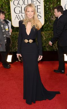 Kate Hudson at the Golden Globes '13.... one of the best dressed for me!
