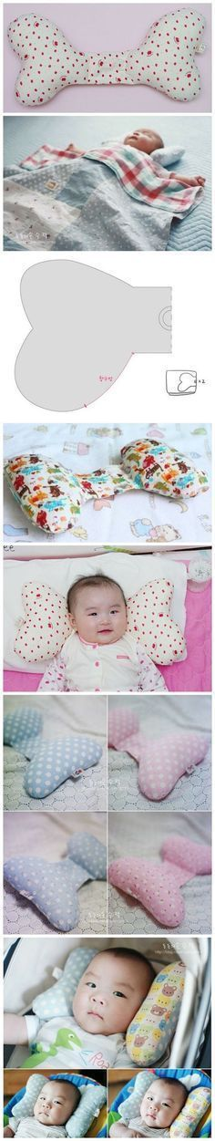 Molde Travesseiro para bebe - Moldes e Apostilas Baby Sewing Projects, Sewing For Kids, Diy For Kids, Baby Kind, Baby Love, Baby Maker, Diy Bebe, Baby Pillows, Baby Crafts