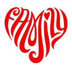 Family Heart SVG File #ad #heart #family #silhouette #cricut #svg #vinyl