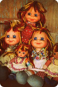 Boneca Emília decada 70 e 80